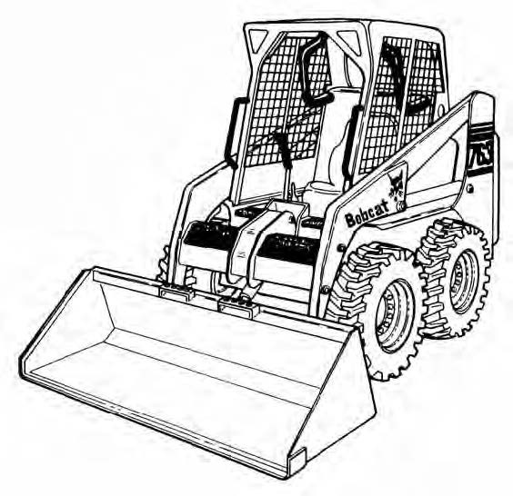Bobcat 763 763h Bics Service Repair Manual Download