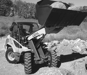 gehl 418 all wheel steer loader parts manual download 909878