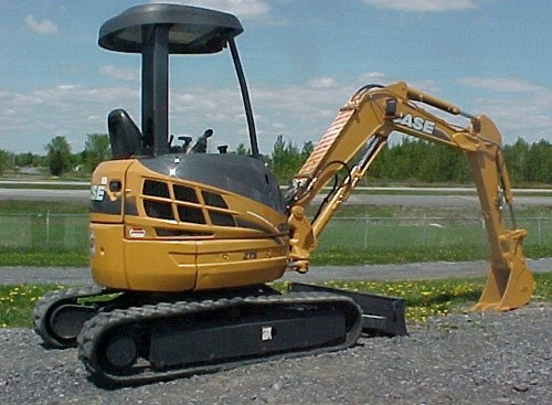 Case CX36B Tier4 Compact Crawler Excavator Operators Manual