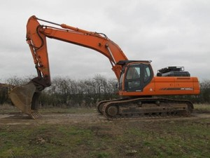 DOOSAN Daewoo DX420LC Excavator Service Shop Manual Download