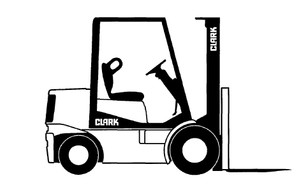 Clark SM-548H ECS 17-30 Forklift Service Repair Manual Download