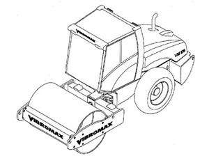 Vibromax VM106 Single Drum Roller Service Repair Manual Download