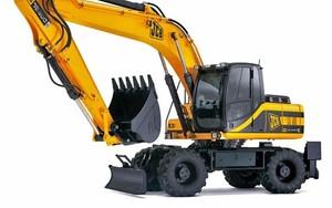JCB JS200W TIER III Wheeled Excavator Service Repair Manual Download