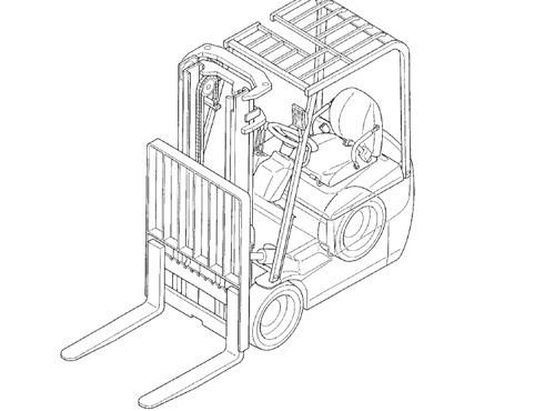 Caterpillar Cat EP20K - EP35K lift Trucks Service Repair Manual Download