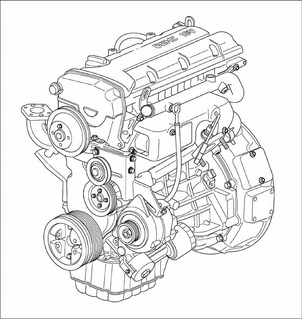 Doosan Forklift G420fe Lp G420f Lp Engine Service Repa