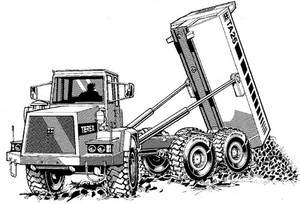 Terex TA25 & TA27 Articulated Dumptruck Service Repair Manual