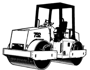 Vibromax 752 Tandem Drum Roller Service Repair Manual Download