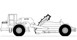 Terex S17E Elevating Scraper Service Repair Manual