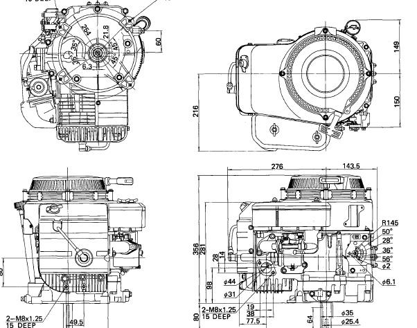 kawasaki fb460v 4 stroke air cooled gasoline engine wo rh sellfy com kawasaki fb460v service manual pdf kawasaki fb460v workshop manual