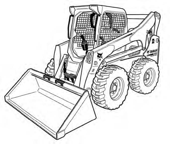 Wire Diagram A770 Bobcat