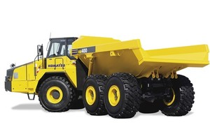 Komatsu HM400-2 Articulated Dump Truck Service Shop Manual(2001 and up)