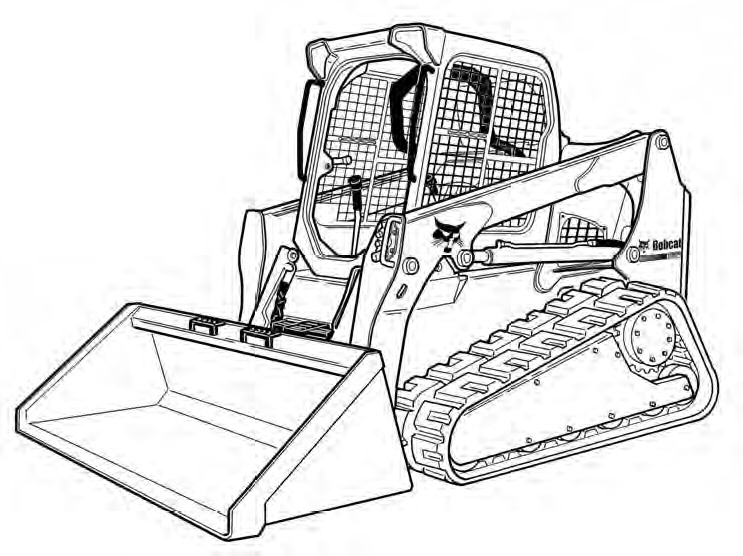 Bobcat T750 Compact Track Loader Service Repair Manual
