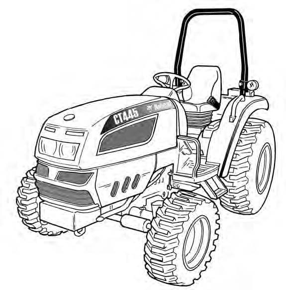 Bobcat CT440, CT445, CT450 Compact Tractor Service Rep
