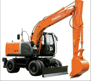 Hitachi Zaxis 140W-3 Excavator Service Repair Manual Download