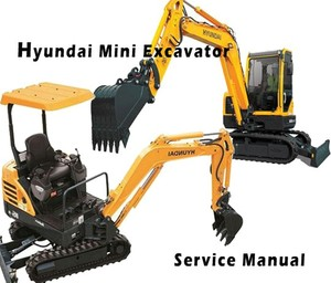 Hyundai R55-7 Crawler Excavator Service Repair Manual Download