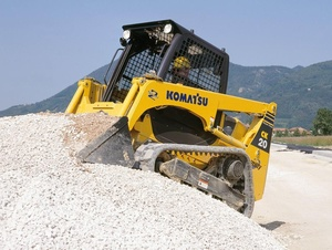 Komatsu CK20-1 Crawler Skid-Steer Loader Service Shop Manual(SN:F00003 and UP)