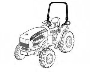 Bobcat CT225, CT230 Compact Tractor Service Repair Manual Download
