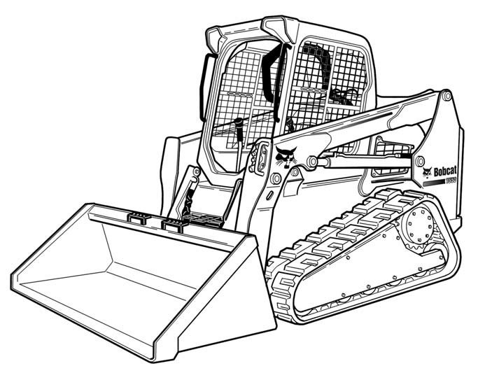 Bobcat T550 Compact Track Loader Service Repair Manual