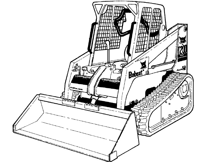 Bobcat 863 Hydraulic Pump Diagram