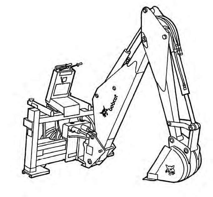 Bobcat Backhoe Service Repair Manual Downloadsn 0746