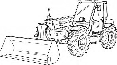 Bobcat T3571 T3571L Telescopic Handler Service Repair Manual Download(S/N A8HF11001 & Above ...)