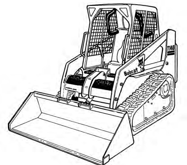 Bobcat T140 Compact Track Loader Service Repair Manual