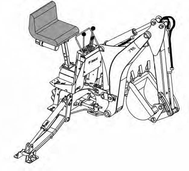 Bobcat Backhoe Diagram