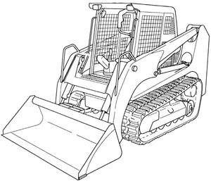 GEHL CTL65 Compact Track Loader Service Repair Manual Download