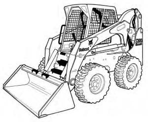 Bobcat S330 Skid-Steer Loader Service Repair Manual Download(S/N A02011001 - A02059999 ...)