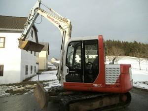 Takeuchi TB070 Compact Excavator Service Repair Workshop Manual Download