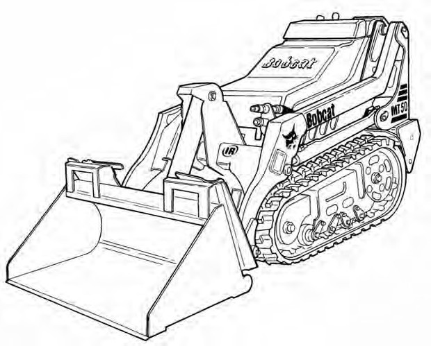 Bobcat MT52 / MT55 Mini Track Loader Service Repair Manual Download