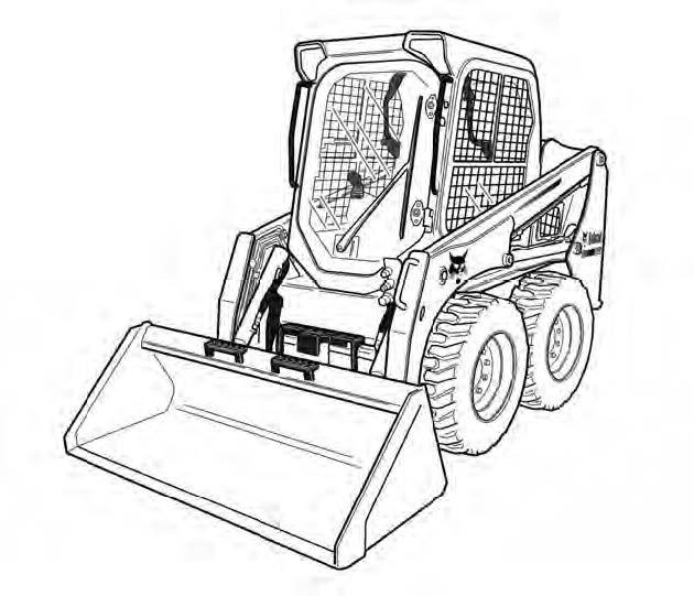 Bobcat S450 Skid Steer Loader Service Repair Manual Do