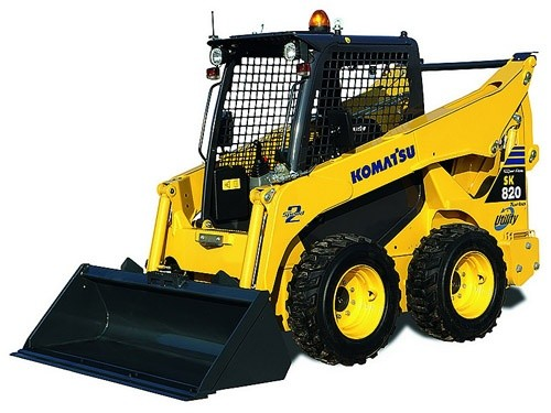 Komatsu SK820-5N Skid-Steer Loader Service Shop Manual