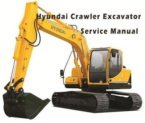 Hyundai R180LC-3 Crawler Excavator Service Repair Manual Download