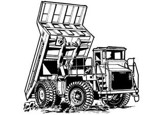 Terex TR35 Off-Highway Truck Service Repair Manual
