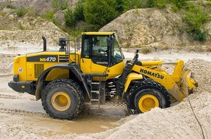 Komatsu WA470-7 Wheel Loader Service Shop Manual(SN:10001 and up)