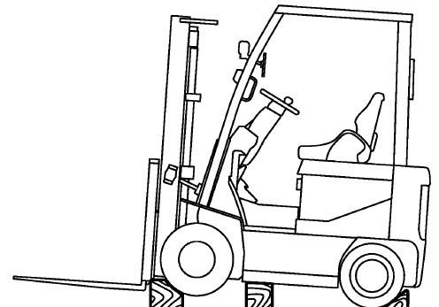 Nissan Forklift Electric 1Q2 Series Service Repair Manual Download
