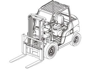 Caterpillar Cat DP40N-DP55N / GP40N-GP55N lift Trucks Service Repair Manual Download