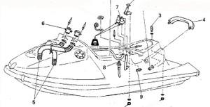 Yamaha WaveBiaster II WB760 Service Repair Manual Download