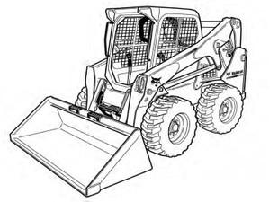 Bobcat S850 Skid-Steer Loader Service Repair Manual Download(S/N ATF411001 & Above ...)