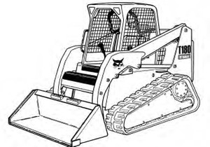 Bobcat T180 Compact Track Loader Service Repair Manual Download(S/N 524211001 & Above...)