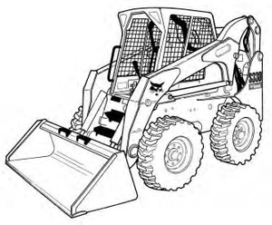 Bobcat S250 S300 Skid-Steer Loader Service Repair Manual Download(S/N A5GM20001 & Above ...)
