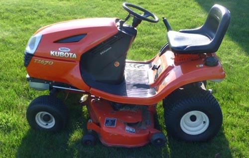 kubota t1570 t1670 t1770 t1870 lawn tractor workshop m rh sellfy com Kubota T1870 Owner's Manual kubota t1870 repair manual