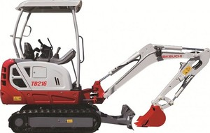 Takeuchi TB216 WFTB216_F-XC Mini Excavator Service Repair Workshop Manual(S/N:216100002 & Above)