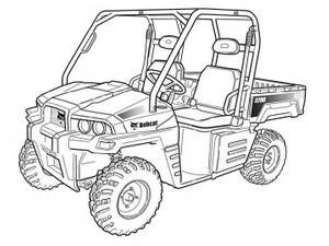 Bobcat 3200 Utility Vehicle Service Repair Manual Download