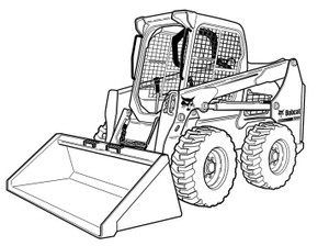 Bobcat S510 Skid-Steer Loader Service Repair Manual Download(S/N ALNW11001 & Above)