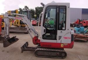 Takeuchi TB015 Compact Excavator Service Repair Workshop Manual Download