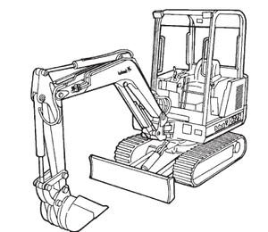 Bobcat 325 Excavator Service Repair Manual Download(S/N 514011001 – 514012999)