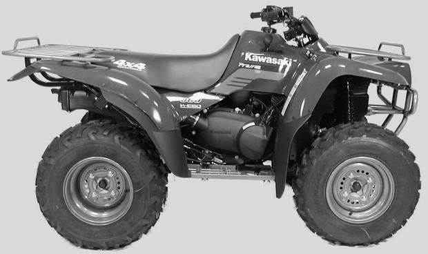 2003 Kawasaki KVF360 PRAIRIE 360 Service Repair Manual Download
