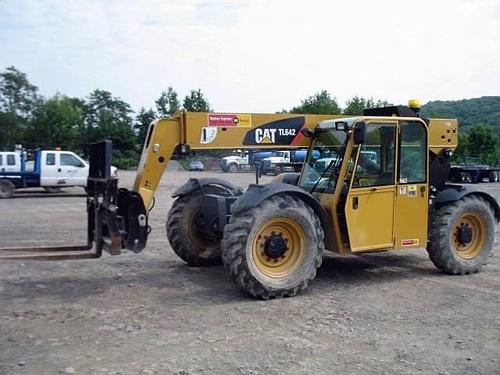 caterpillar cat tl642 tl943 telehandler service manual rh sellfy com Caterpillar Telehandler Caterpillar Telehandler